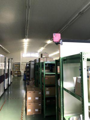 倉庫の状態監視