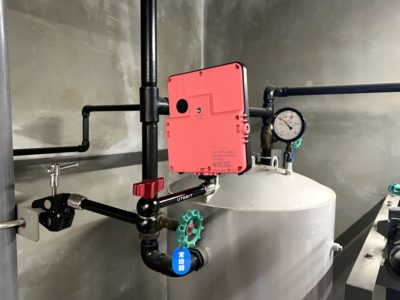 リザーバタンクの圧力監視