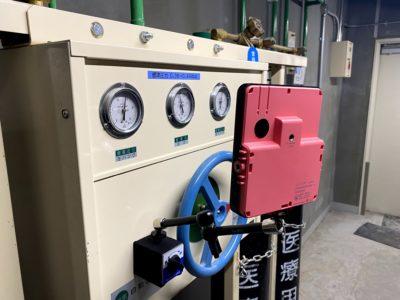 医療用ガス圧力の監視